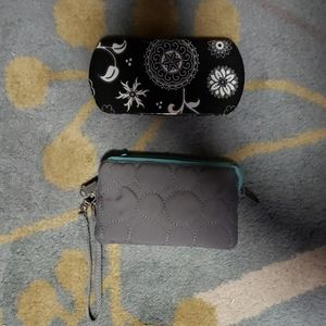 2 Thirty-One wallet and wristlet